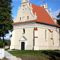 Zdj. nr 4;Kościółek Św. Anny i kapliczka wotywna