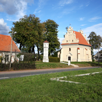Zdj. nr 2;Dawny szpital, kapliczka wotywna, kościółek Św. Anny