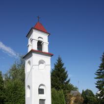 Zdj. nr 120;Kapliczka w Kurowie