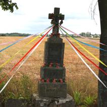 Zdj. nr 83;Krzyż w Łaguszowie