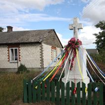Zdj. nr 80;Krzyż w Ławeczku Starym