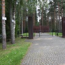 Zdj. nr 1;Brama wejściowa na cmentarz.