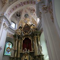 Zdj. nr 27;Prezbiterium, ołtarz główny