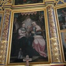 Zdj. nr 9;Ołtarz - Św. Anna, Najświętsza Maryja Panna i Dzieciątko Jezus
