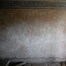 Zdj. nr 21;Oratorium - malowidła na ścianach