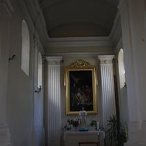 """Zdj. nr 40;Kaplica północna """"Zdjęcie z krzyża"""""""