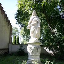 Zdj. nr 54;Figura Matki Boskiej w Piotrawinie