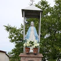 Zdj. nr 134;Kapliczka w Osinach
