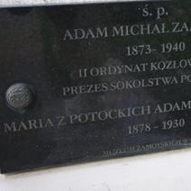 Zdj. nr 24;Miejsce pochówku Zamoyskich