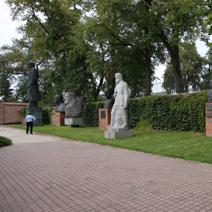 Zdj. nr 29;Fragment muzeum socrealizmu w Kozłówce