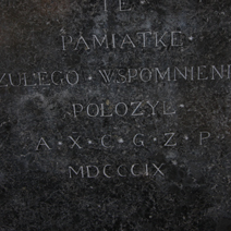 Zdj. nr 70;Pomnik Franciszka Dionizego w Końskowoli