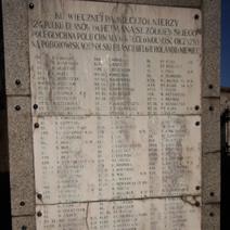 Zdj. nr 75;Pomnik poległych żołnierzy Ułanów 12 pułku im. St. Żółkiewskiego w Kraśniku