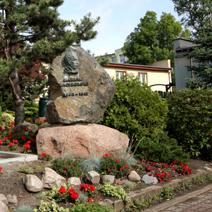 Zdj. nr 65;Pomnik Mariana Raciborskiego w Pruszczu Gdańskim