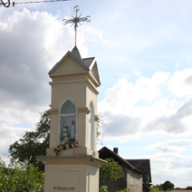 Zdj. nr 130;Kapliczka w Pólkach