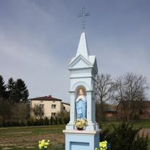Zdj. nr 91;Kapliczka w Pożogu
