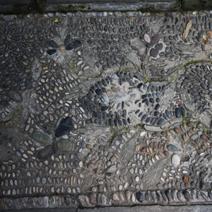 Zdj. nr 110;Mozaika chodnikowa z kamieni