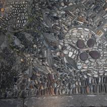 Zdj. nr 111;Mozaika chodnikowa z kamieni