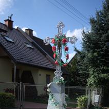Zdj. nr 126;Krzyż w Rykach