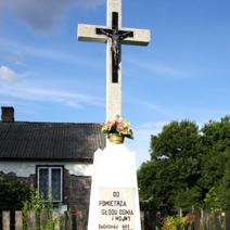 Zdj. nr 158;Krzyż w Sielcach