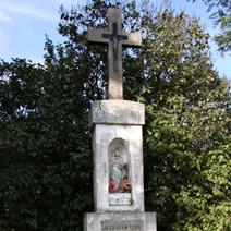 Zdj. nr 160;Krzyż w Sielcach