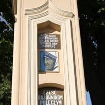 Zdj. nr 157;Kapliczka w Sielcach