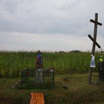 Zdj. nr 107;Krzyże drewniane w Soce, pow. Hajnówka