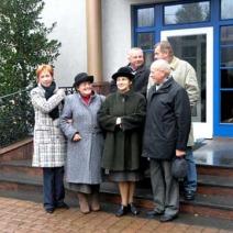 Wizyta w ogrodzie Danuty i Lecha Wałęsów