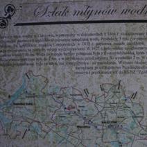 Zdj. nr 4;Ruiny papierni, młynów i części mieszkalnej Czartoryskich, później Kleniewskich, nad rzeką Bystrą