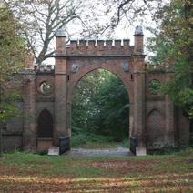 Zdj. nr 6;Brama pałacowa w Kryłowie