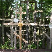 Zdj. nr 38;Krzyże na Świętej Górze Grabarce