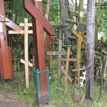 Zdj. nr 40;Krzyże na Świętej Górze Grabarce