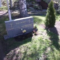 Zdj. nr 25;Cmentarz w Finlandii