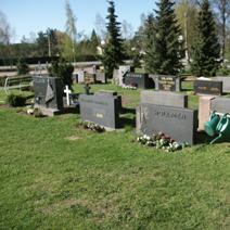 Zdj. nr 26;Cmentarz w Finlandii