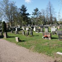 Zdj. nr 28;Cmentarz w Finlandii
